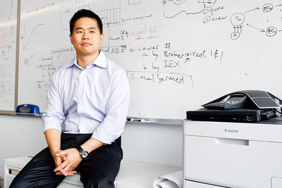 IEX CEO Brad Katsuyama, Image Courtesy of Wall St. Journal