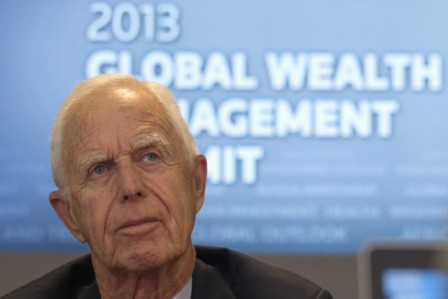 Frmer SEC Head Arthur Levitt, photo by Reuters