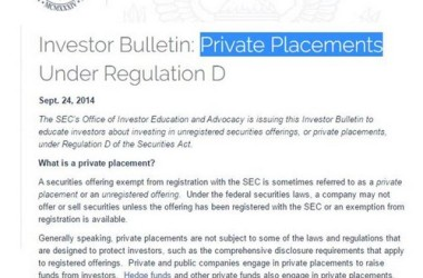 private-placement-memorandum-best-practices